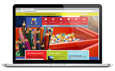 High Crags Primary School website